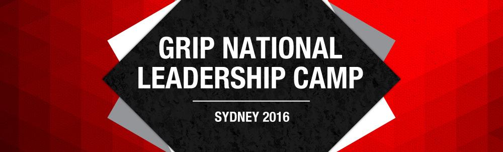2016 GRIP National Leadership Camp