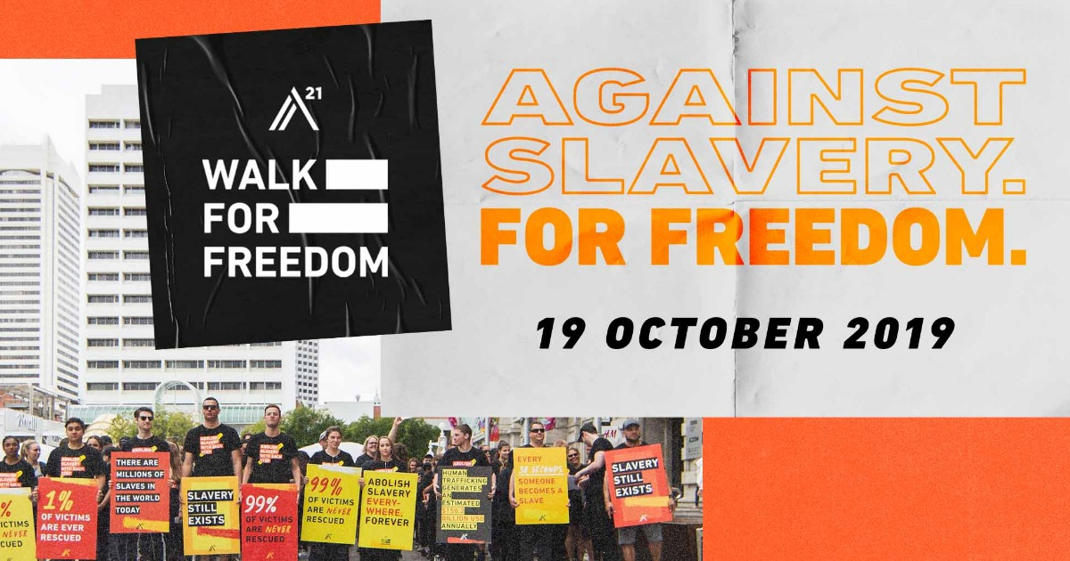 Home | Walk For Freedom | A21