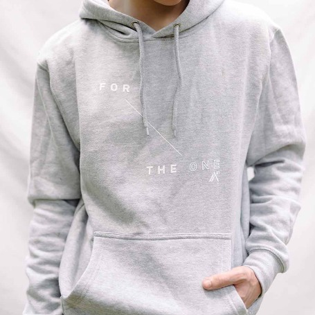 'For The One' Grey Sweatshirt