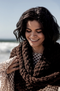 'Cocoa Brown' Scarf