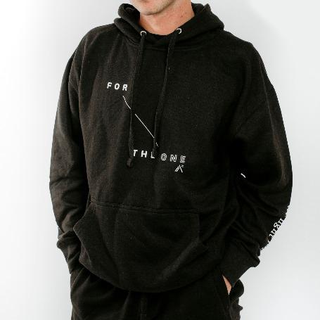 'For The One' Black Sweatshirt