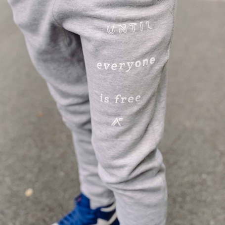 'For The One' Grey Trackpants