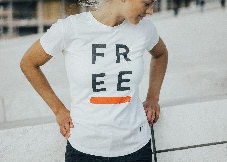 'FREE' - Womens T-shirt