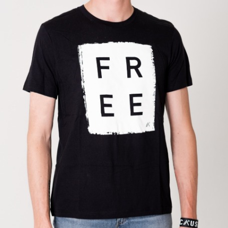'Free' Box (Black) - T-Shirt