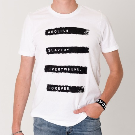Abolish Slavery Everywhere, Forever - T-Shirt