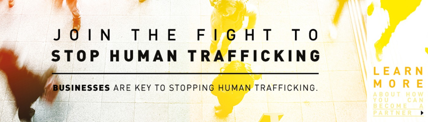Join the fight to stop human trafficking. Businesses are key to stopping human trafficking. Learn more about how you can become a partner.