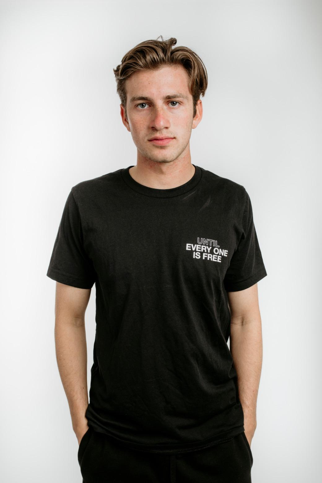 Black Until EveryONE is Free - T-Shirt 1