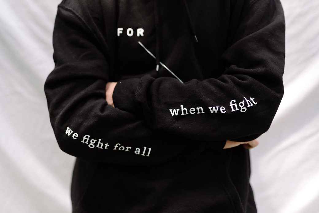 For the one: When we fight, we fight for all.