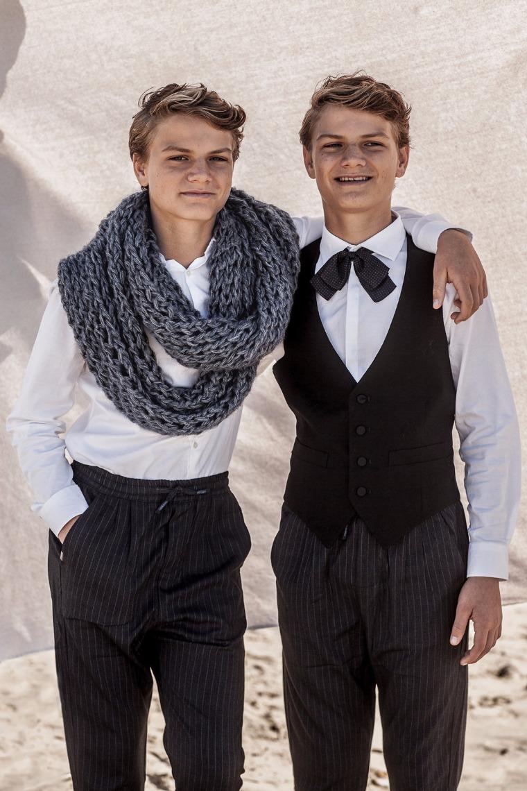 A21 Grey liberty scarf