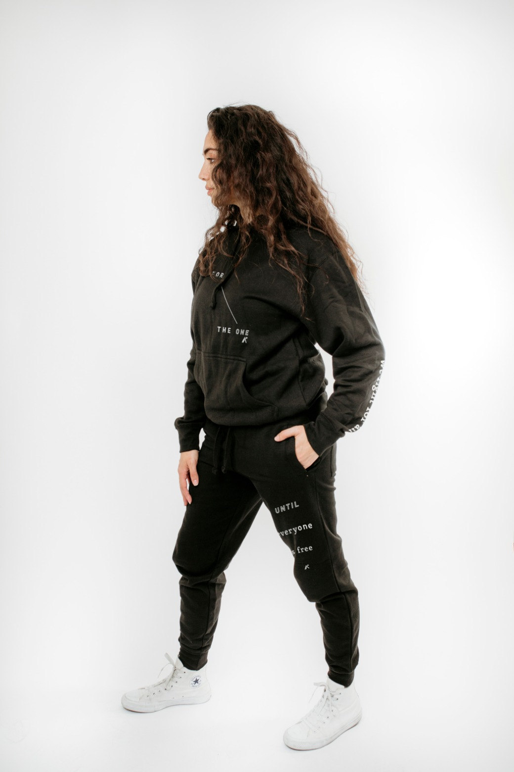 Tracksuit: Sweatshirt and Trackpants: For The ONE 1