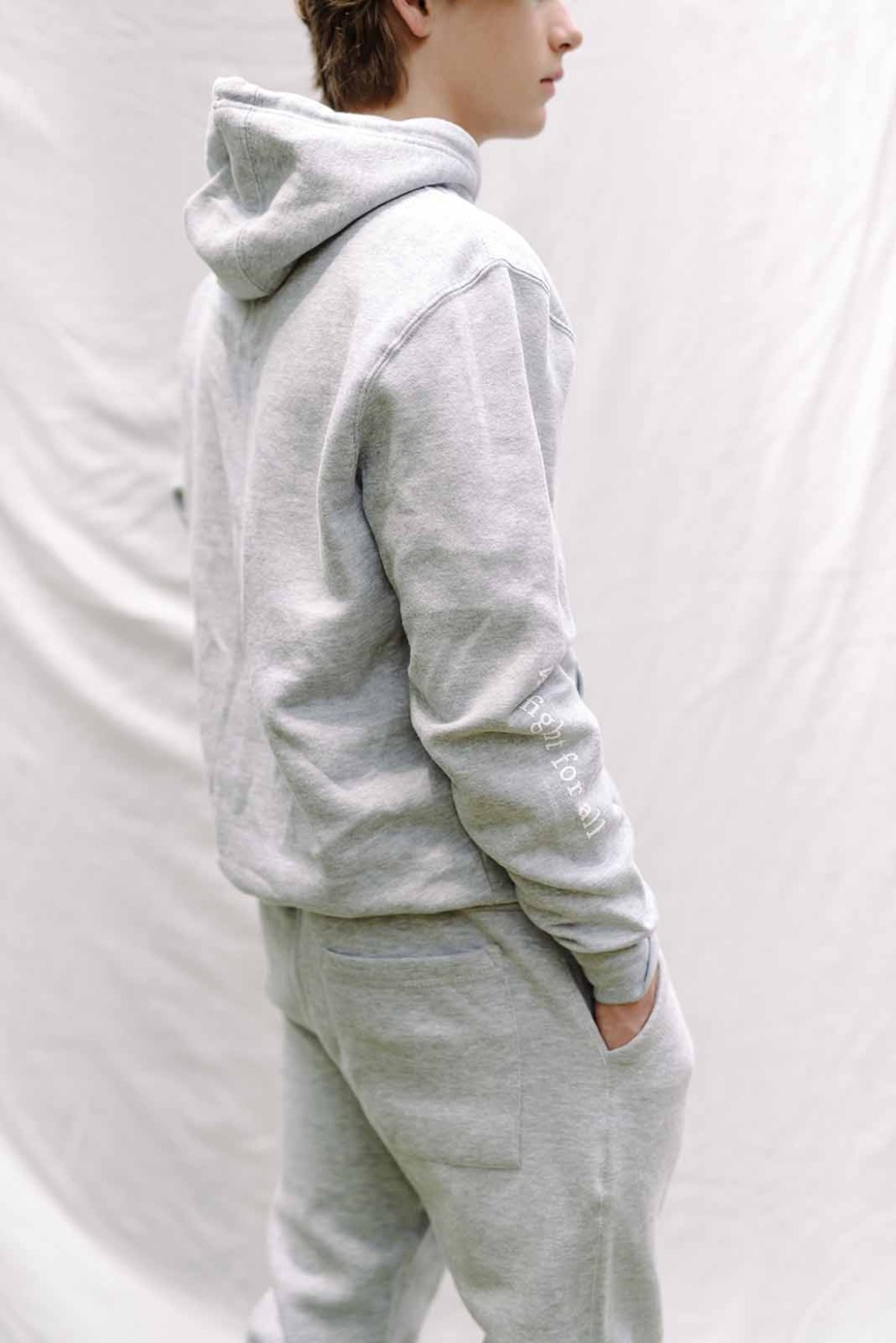 For The One Grey Trackpants