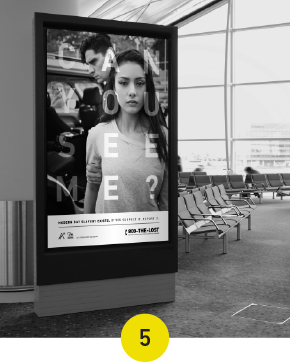Released our Can You See Me? Campaign in the US