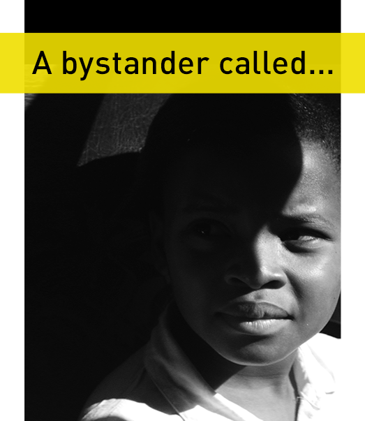 A bystander called...