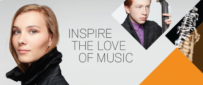 Inspire the love of music
