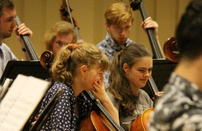 Krzysztof Rehearsal 16
