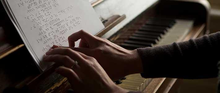 Braille music