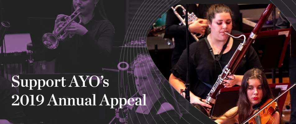 AYO appeal banner