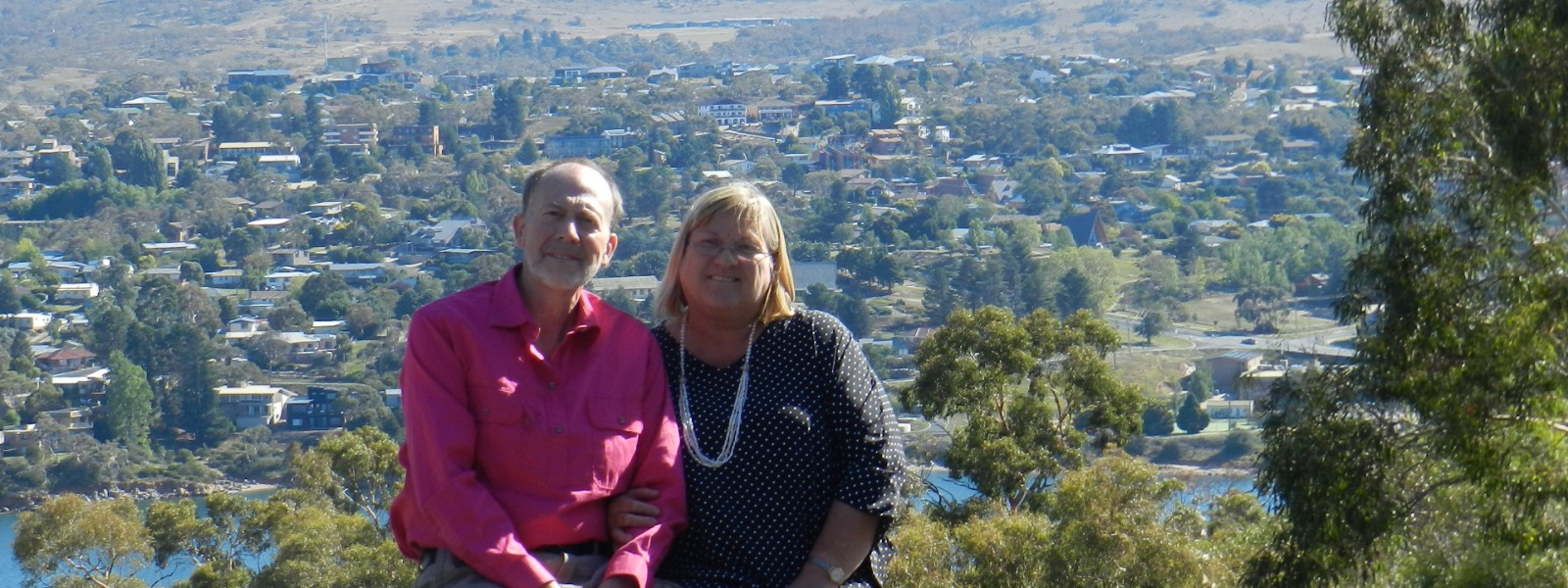 Ken and Ella Meyer in Jindabyne