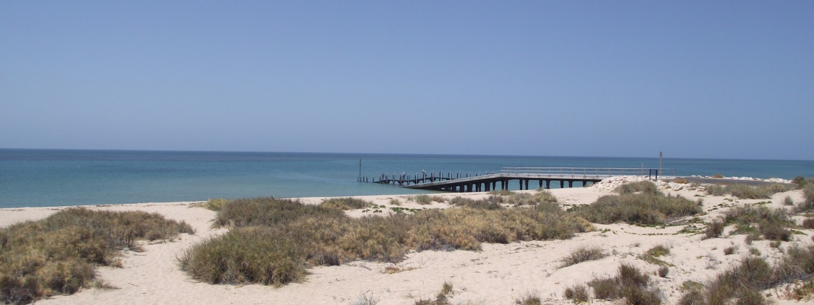 The beach in Exmouth, Western Australia