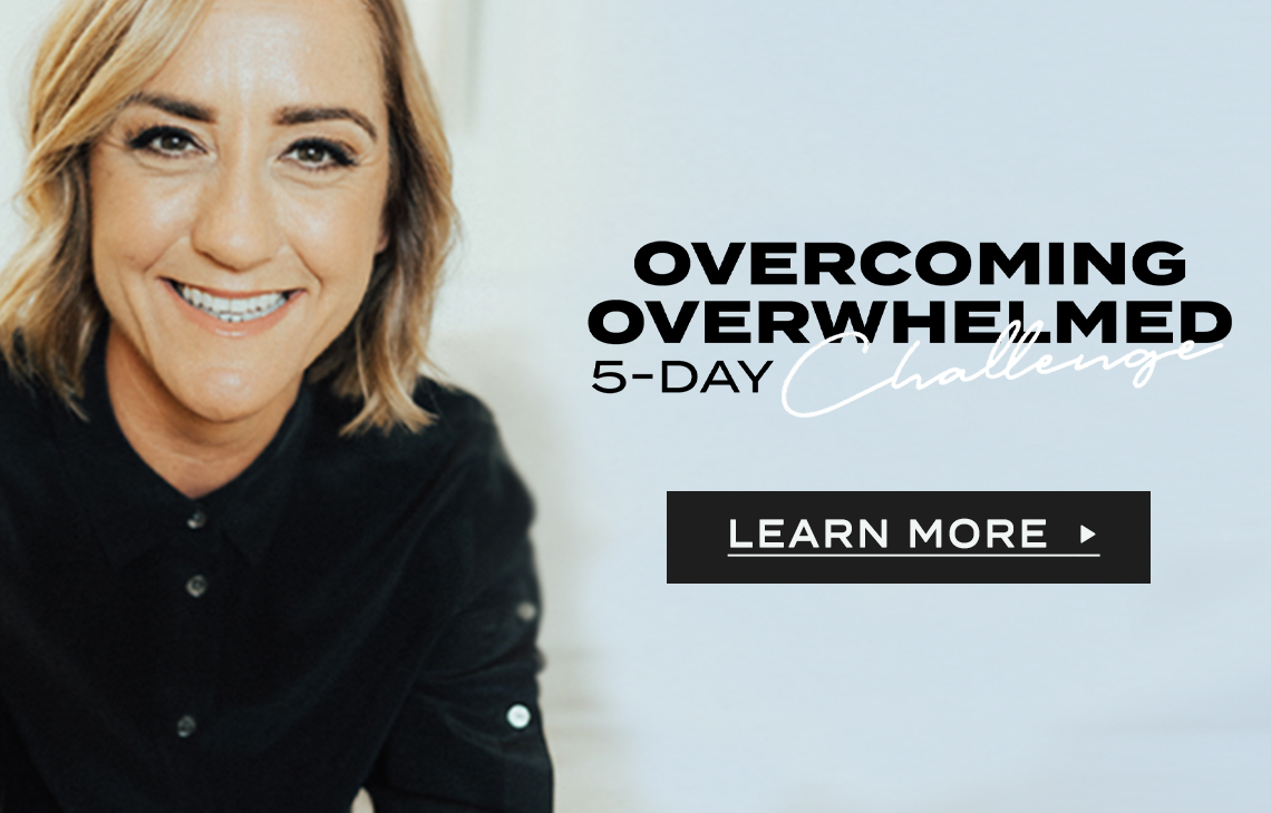 Overcoming Overwhelmed 5-Day Challenge by Christine Caine > Opening in New Window