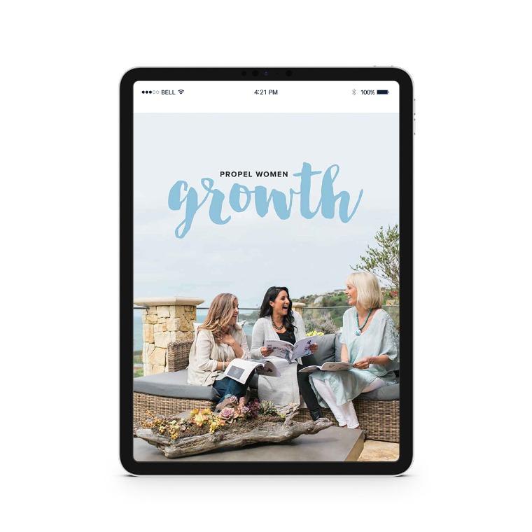 Propel Women group study - Growth Downloadable Workbook
