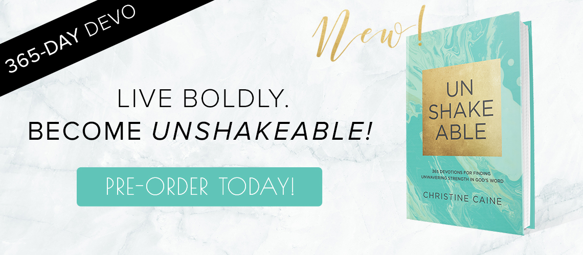 Unshakeable Christine Caine
