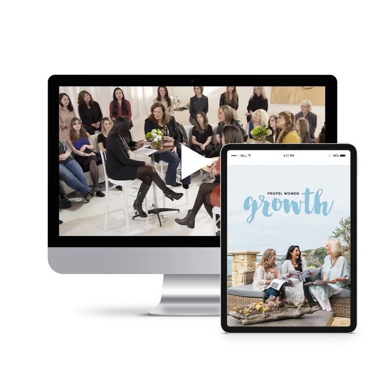 Propel Women group study - Growth Leader Kit (videos and downloadable workbook)