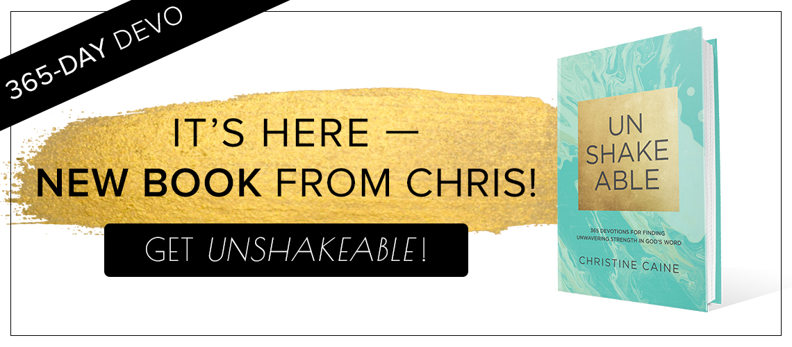 Unshakeable Available Now