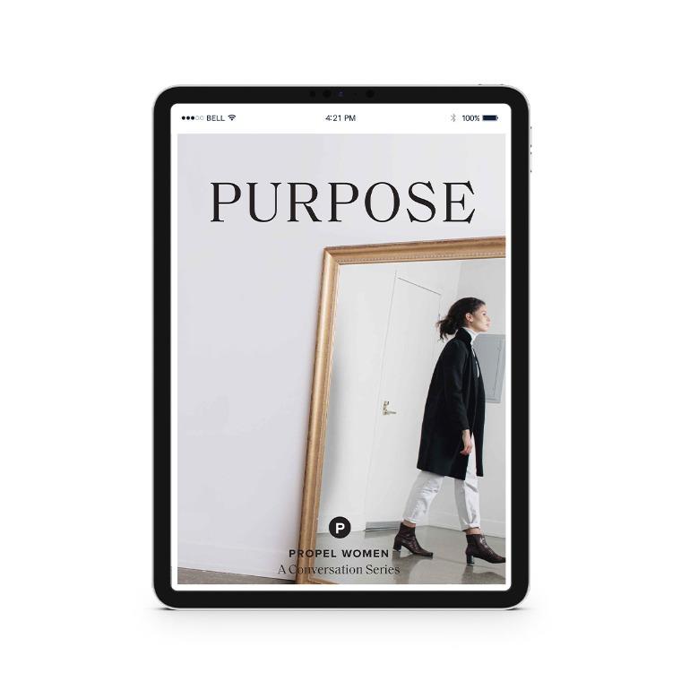 Propel Women group study - Purpose Downloadable Workbook