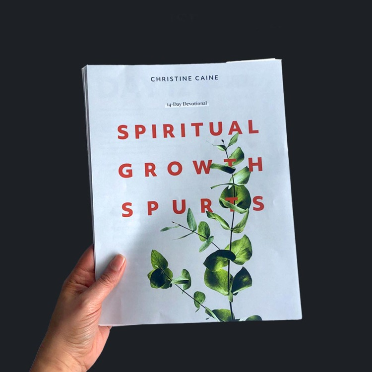 Spiritual Growth Spurts 14-Day Devotional by Christine Caine