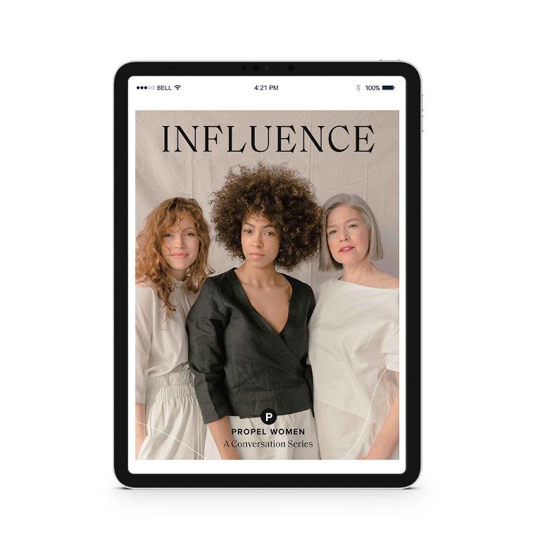 Propel Women group study - Influence Downloadable Workbook