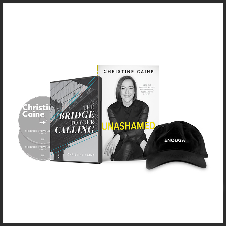 The Bridge To Your Calling Bundle Unashamed Christine Caine