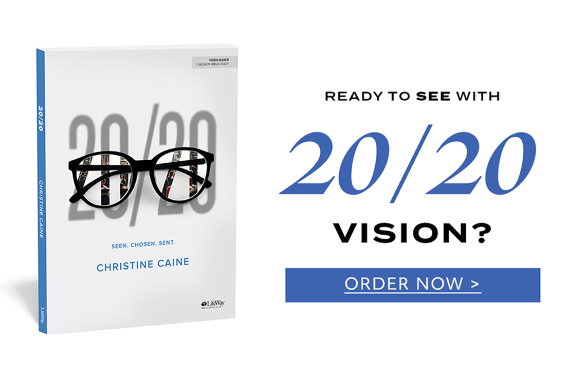 20/20 Bible Study. Ready to see with 20/20 vision? order now.