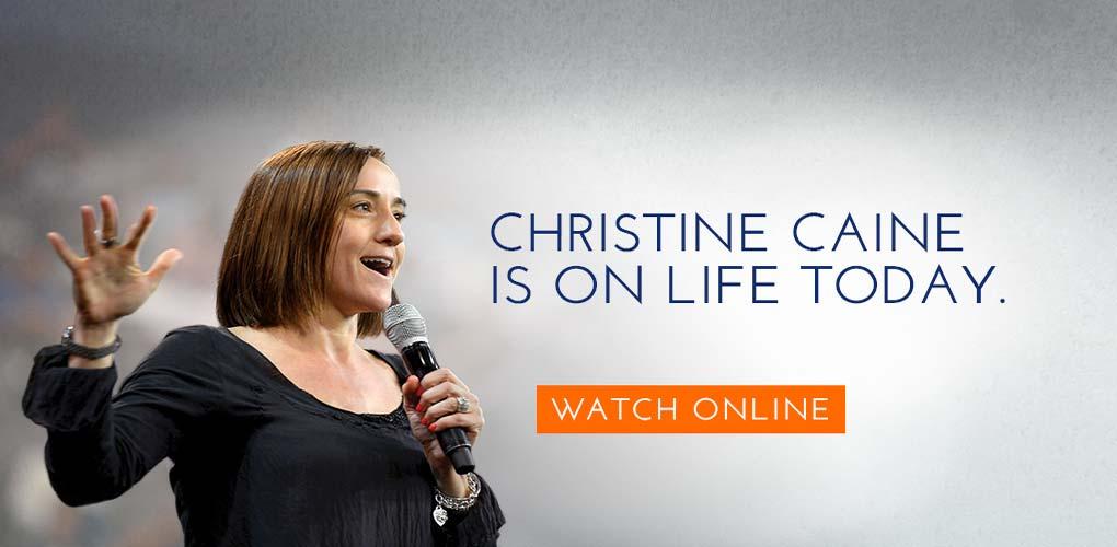 Christine on Life Today