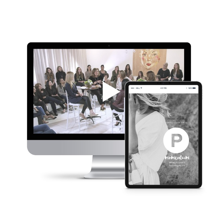 Propel Women group study - Momentum Leader Kit (videos and downloadable workbook)