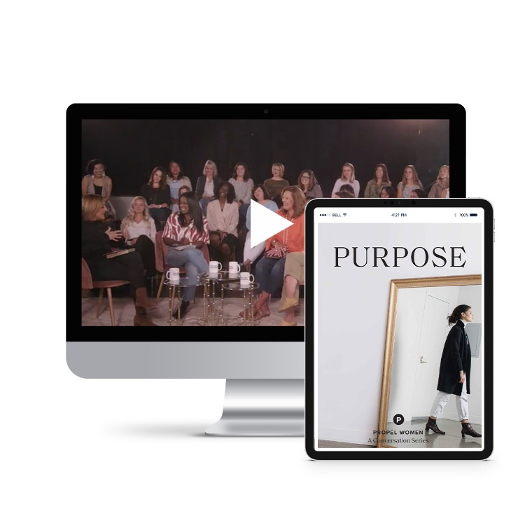 Propel Women group study - Purpose Leader Kit (videos and downloadable workbook)
