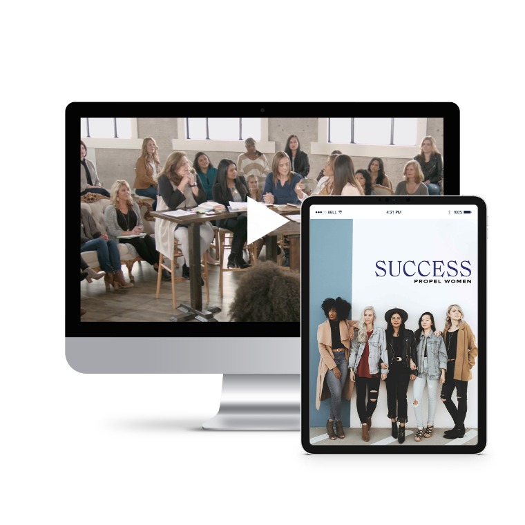Propel Women group study - Success Leader Kit (videos and downloadable workbook)