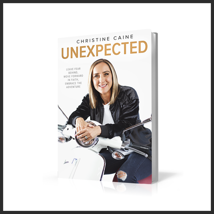 Unexpected Book Christine Caine