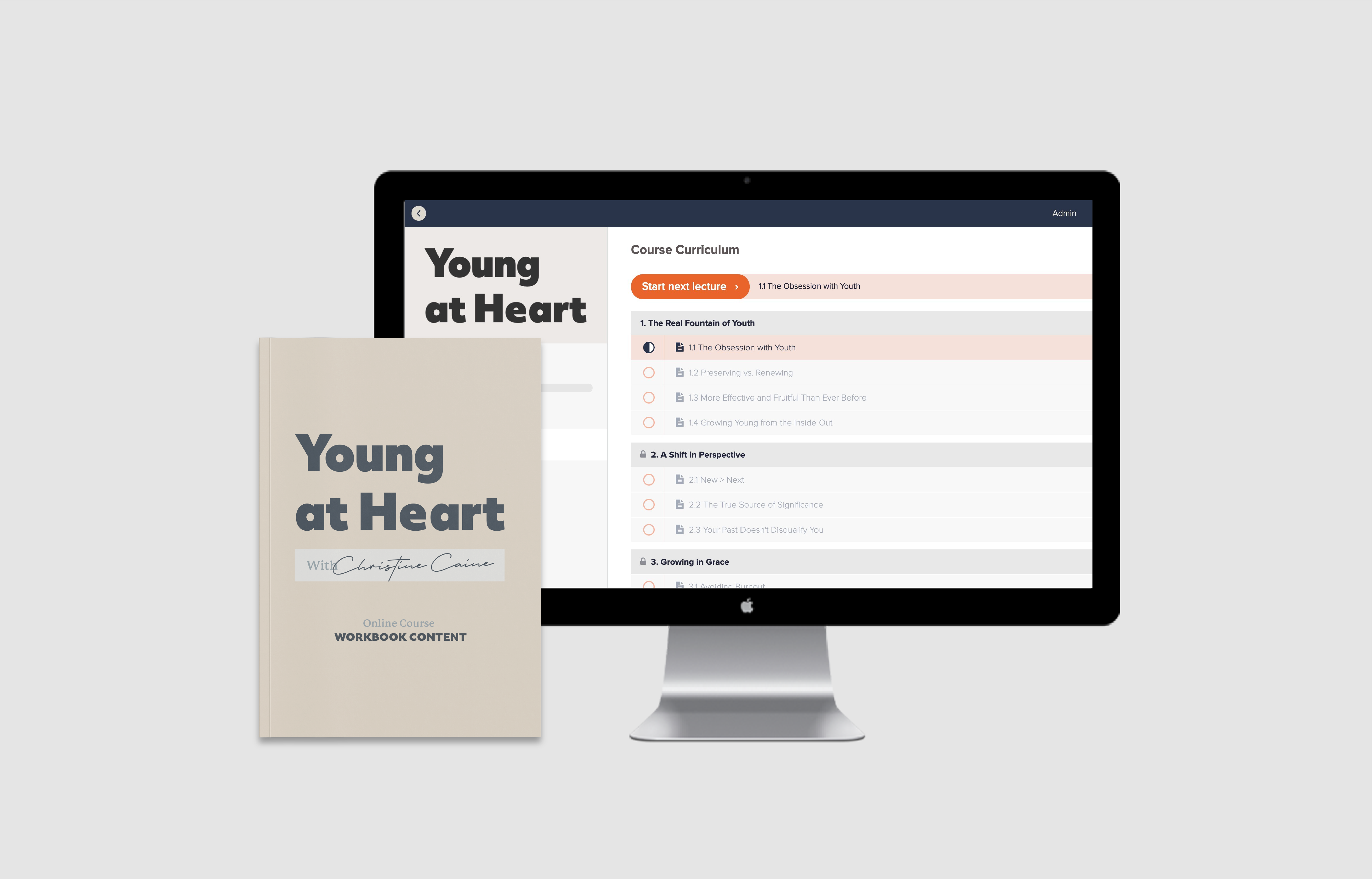 Young At Heart Course by Christine Caine