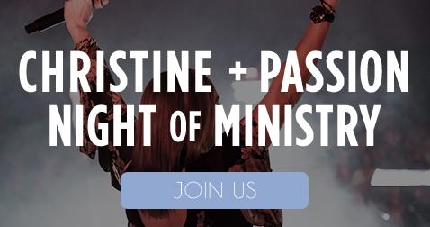 Night Of Worship – Join Christine