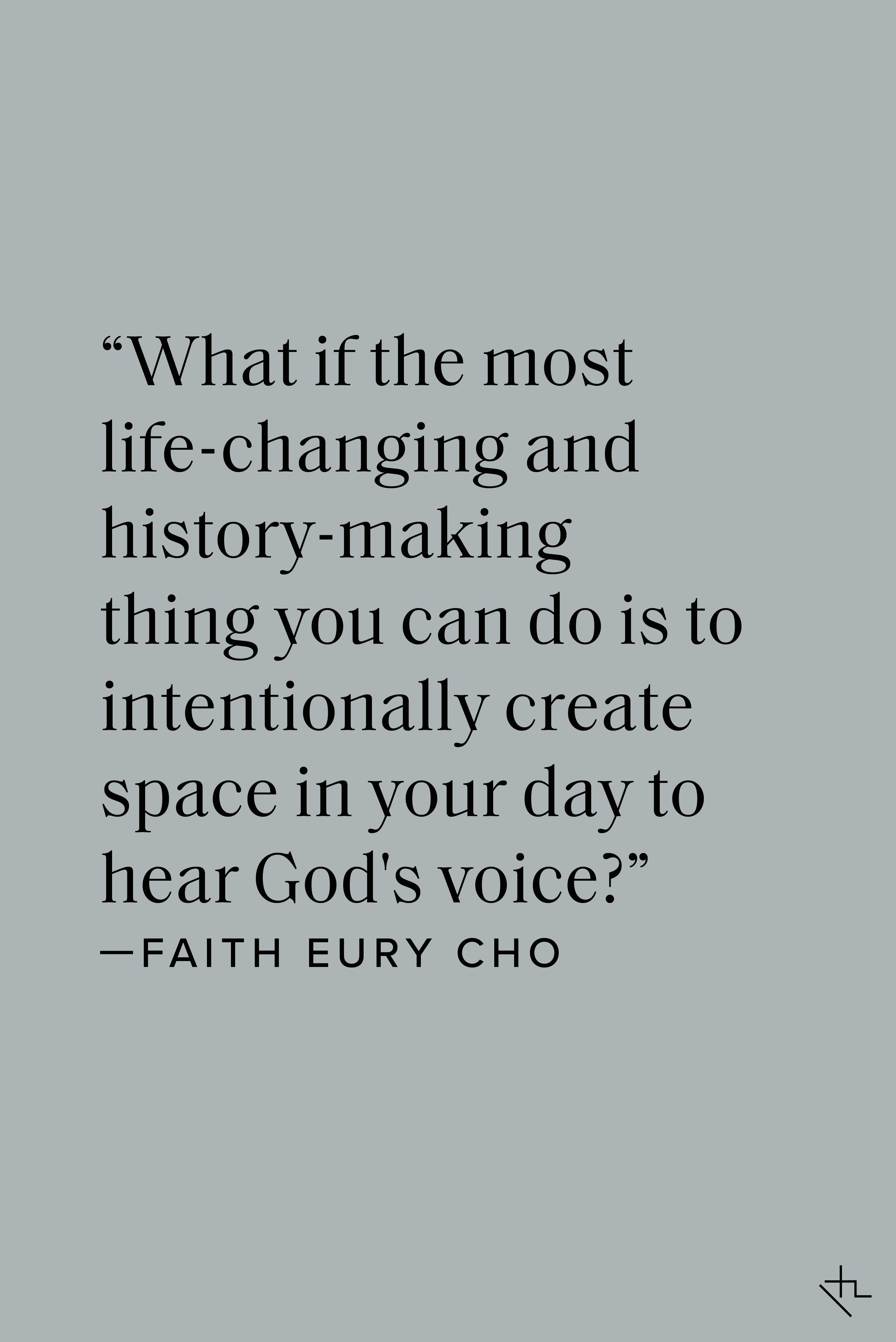 Faith Eury Cho - Pinterest Image