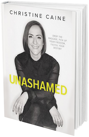 Unashamed Book by Christine Caine