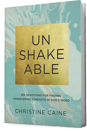 Unshakeable Book by Christine Caine