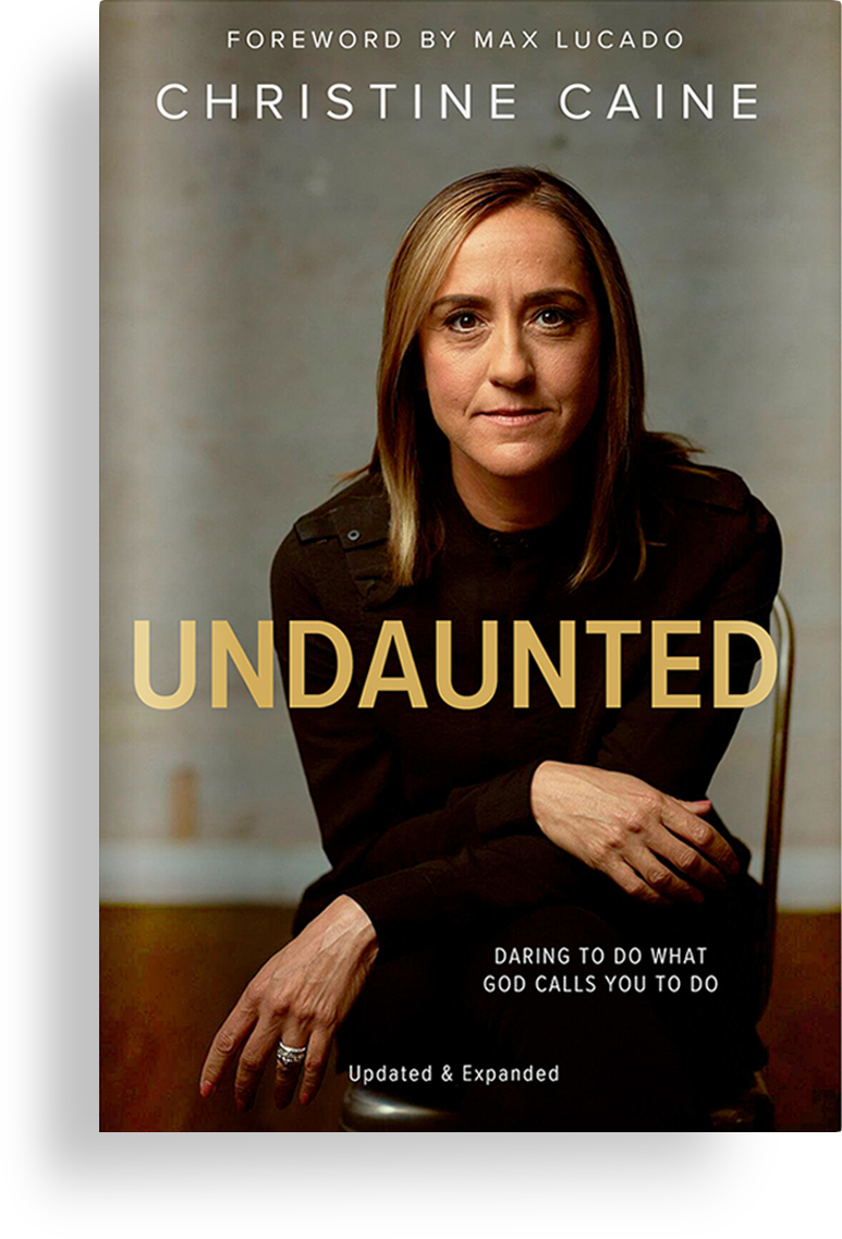 Undaunted Book by Christine Caine