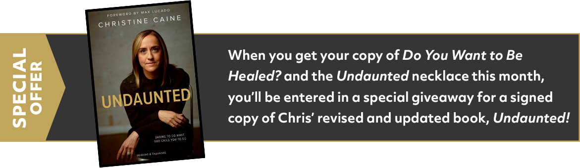 Undaunted, Christine Caine Special Offer