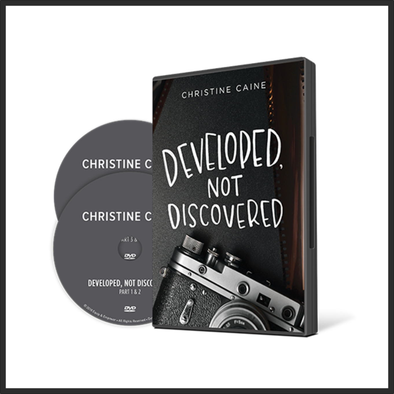 Developed Not Discovered DVD Set