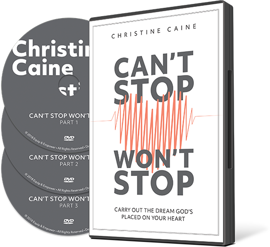Can't Stop Won't Stop Christine Caine