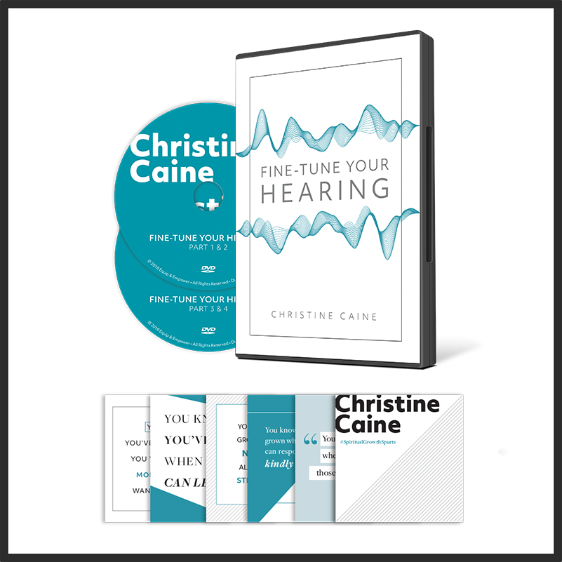 Fine-Tune Your Hearing DVD & Cards