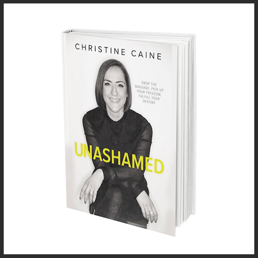 Unashamed Book, by Christine Caine