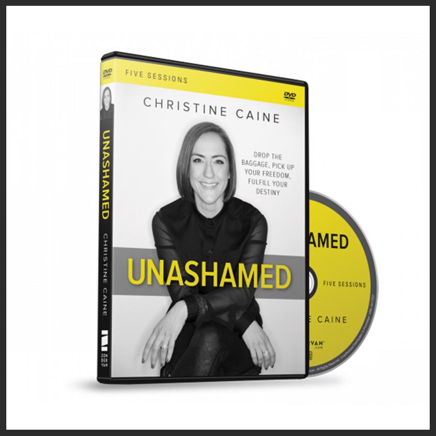 Unashamed DVD